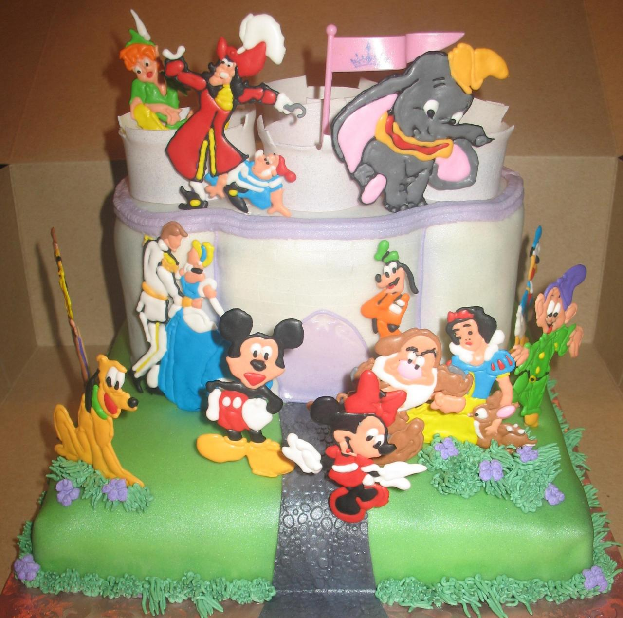Birthday Cake With Characters Image Inspiration of Cake and