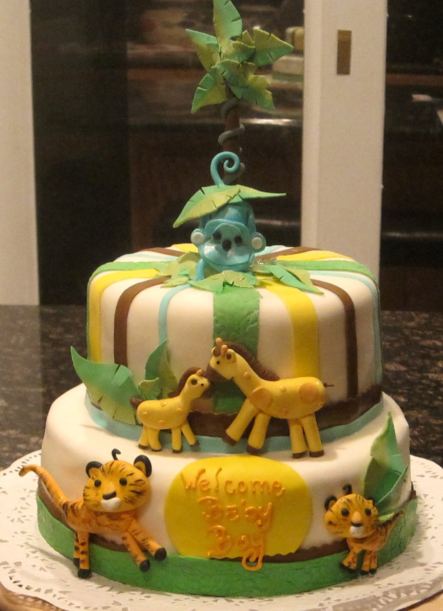 ... Baby Bottom Cake; Safari Baby Shower ...